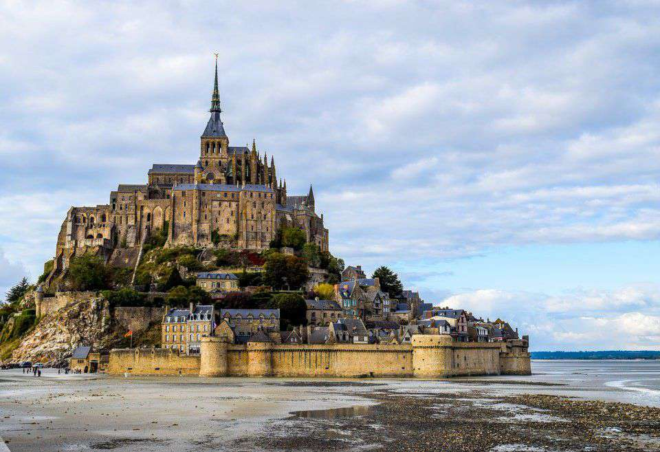Have you ever been to Mont Saint Michel Abbey?